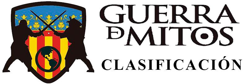 Clasificación de Guerra de Mitos Valencia