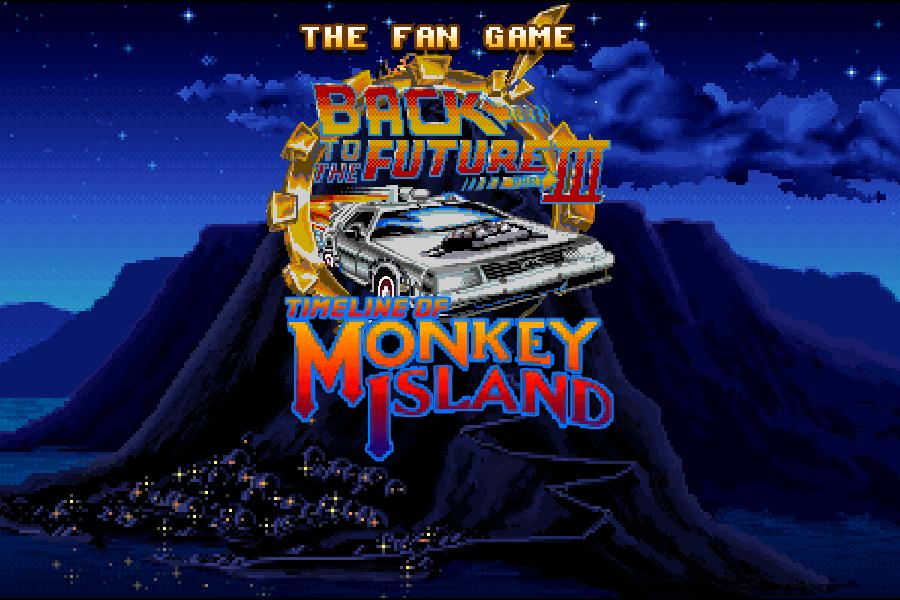 Crossover Regreso al futuro y Monkey Island
