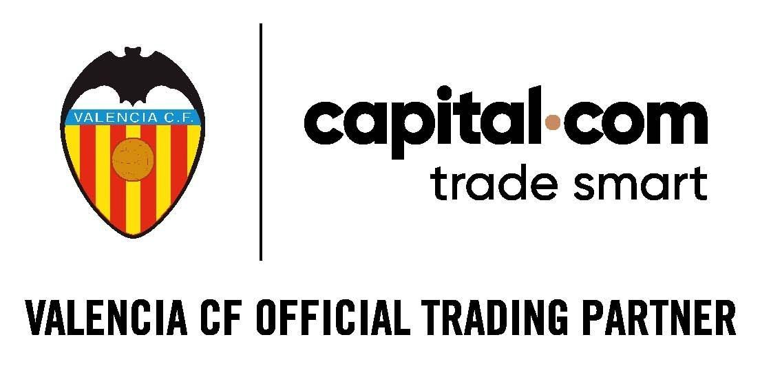 Capital.com patrocina al Valencia C.F. para la temporada 18/19