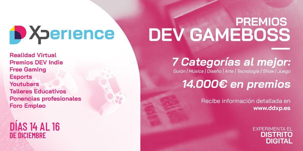Premios Dev Gameboss Indie 18