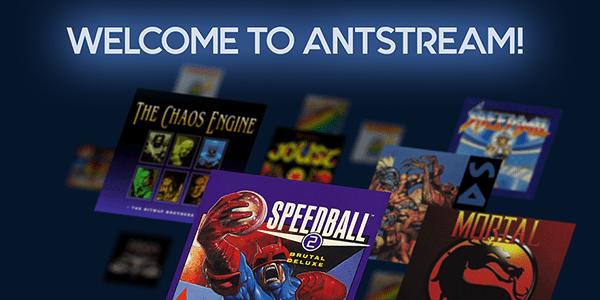 La plataforma retro Antstream inicia su campaña en Kickstarter