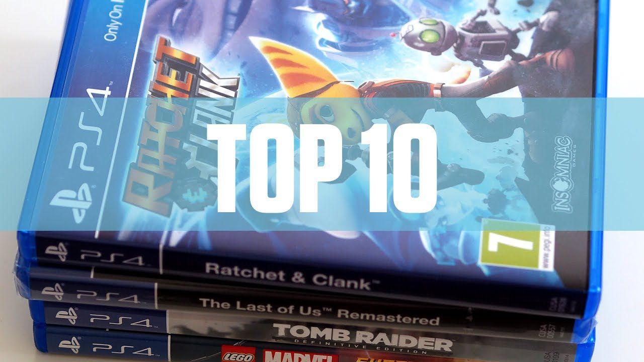 Mi Top 10 de videojuegos de PS4 de esta generación.