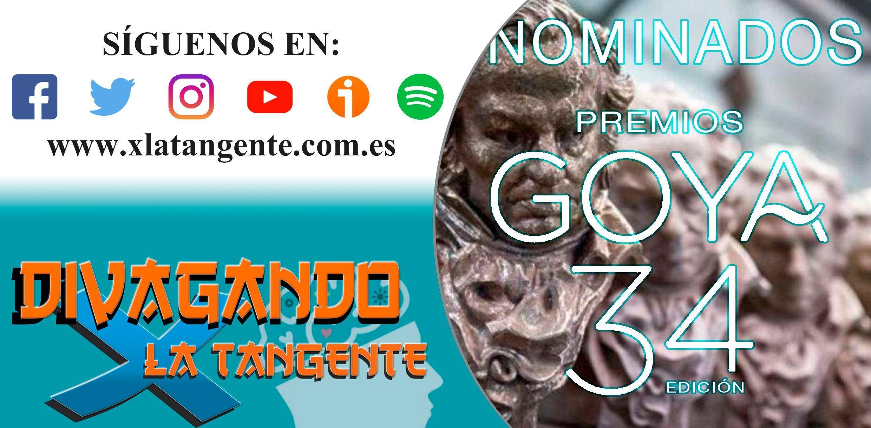 Nominados Goya 2020