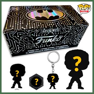 Funko Mistery Box DC Sorteaco Fallas