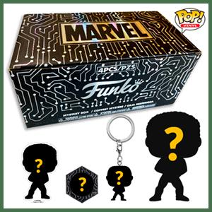 Funko Mistery Box Marvel Sorteaco Fallas