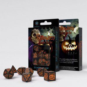 Juego Dados de Rol Halloween Naranja Sorteaco Fallas